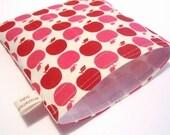 Red Apple Dots Sandwich Sak - Reusable, Stylish, Eco-Conscious