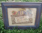 Easter Basket Stitchery SFPAFA