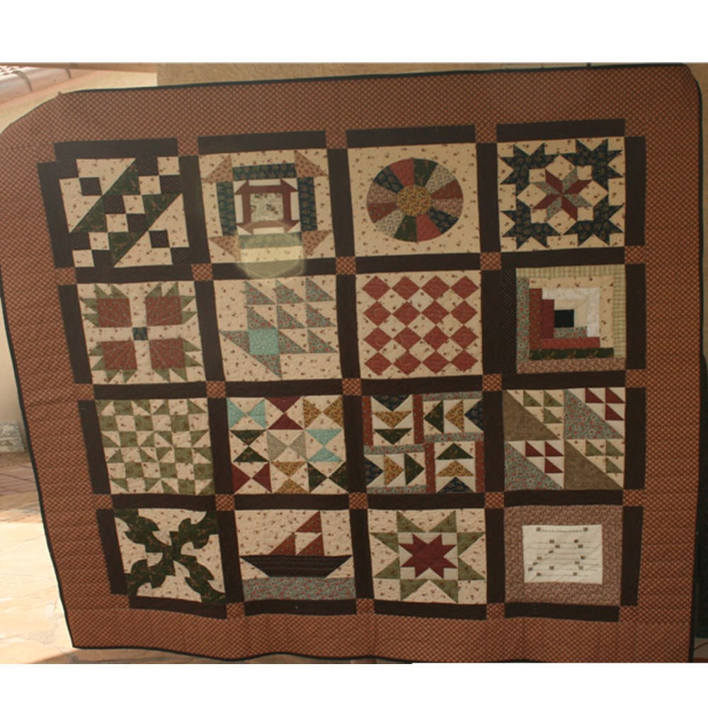 Quilt Patterns Used During The Underground Railroad : Underground Railroad Quilt