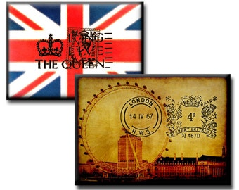 The British Are Coming No2 - Digital collage sheet - 2.5 x 3.5 inches