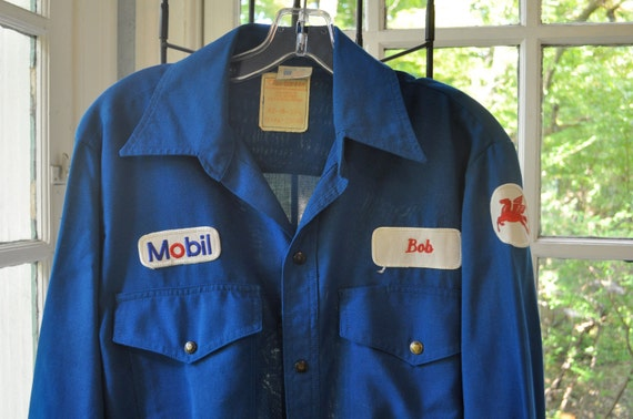 Halloween Costume Gas Station Attendant Vintage 1950s By