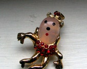 Vintage Humpty Dumpty Pin