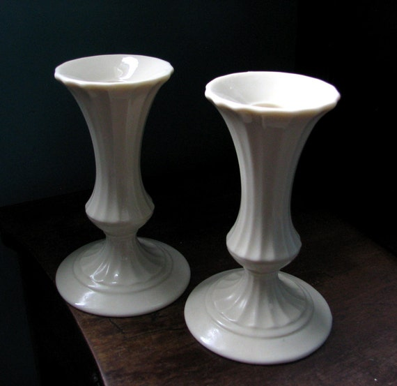 Lenox candle holders made in usa special by kohndesigns on