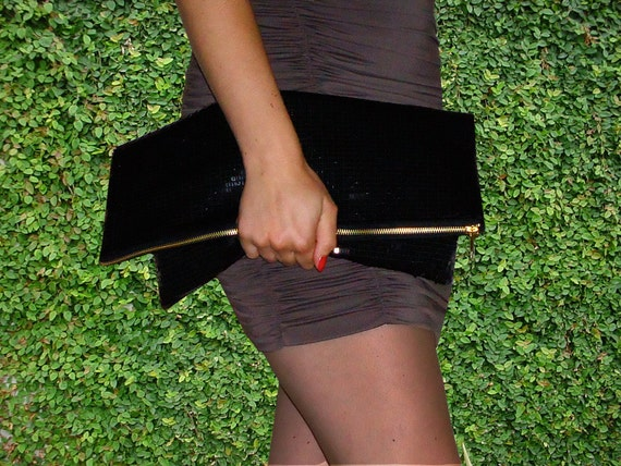 "The ""IT"" Bag by Christa Elle (Black Sequin)"