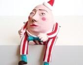 Humpty Dumpty  doll miniature