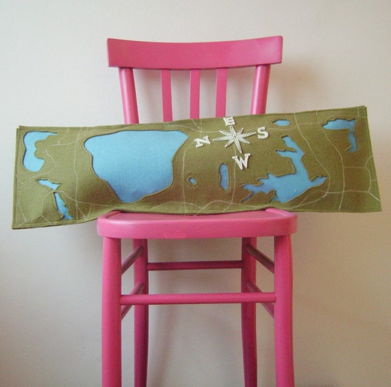 Central Park pillow - 10 x 40 inches