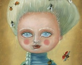 Small Limited Edition Paper Print/ Cry Baby by Ilona Sampovaara