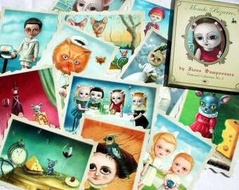 Mondo Bizarro Postcard Collection / Ilona Cutts