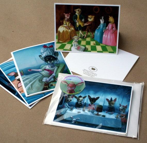 Chihuahua Greeting Cards by Ilona Sampovaara