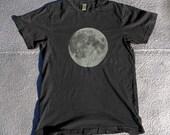 Size XL, Full Moon Screenprinted Tee Shirt