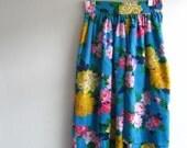 Vintage floral skirt size 5