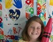 Hands Plus Heart Equals Art Banner