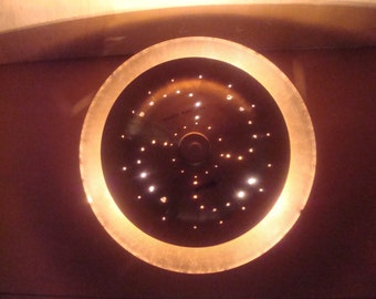 Double Drum Cymbal Ceiling Light