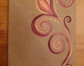 Hand-painted 5x8 Moleskine Journal