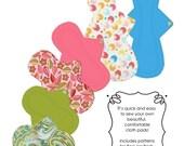 Kiki Cloth Pads Sewing Pattern- PDF Pattern