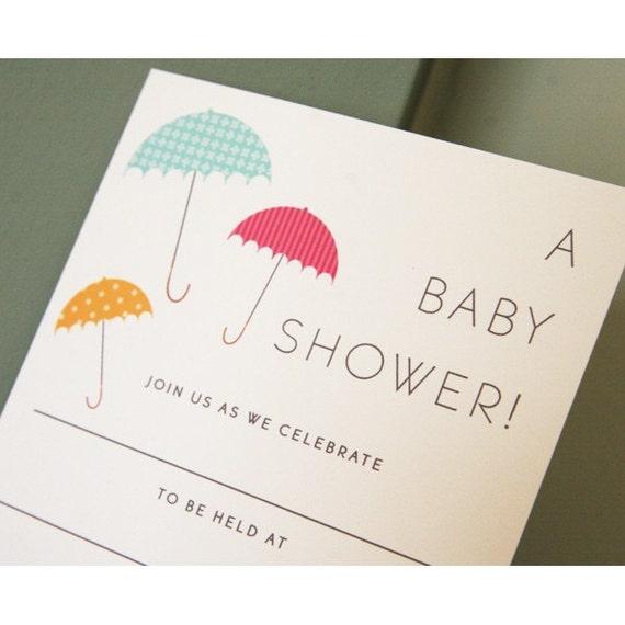 10 Modern Baby Shower Write In Invitations Vintage