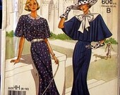 Vintage SIMPLICITY 9360 60th Anniversary Dress Pattern c. 1988 Sizes 6 8 10 12