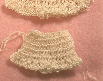 Dolls Hand Crochet Panties for 4-8 Kish Riley Ginny Miniature Bisque Undies 3 Pair