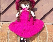 Turn Of The Century Style Doll Hand Knit