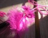 Sassy Straw Feather Cat Toy Princess Mix