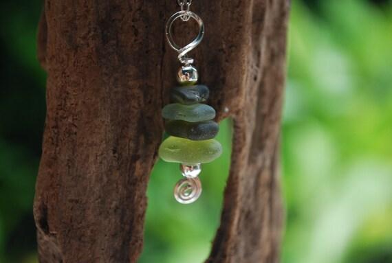 Sea Glass Pendant DROPS
