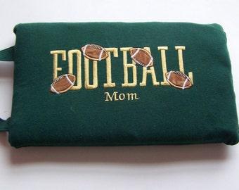 Football Seat Cushion - Stadium Seat - Football Mom
