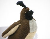 Stuffed Quail with Squeaker for Pets
