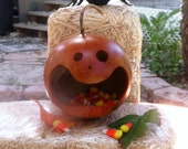 Halloween Candy Dish Gourd 35