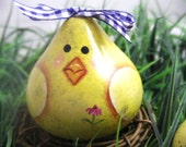Baby chick gourd