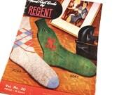 Hand Knit Socks by Regent 1950 Knitting pattern book