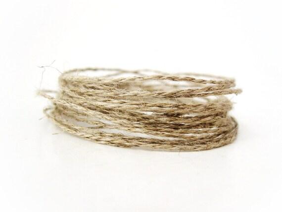 Linen Cord Natural Twine - 10m  (C20)