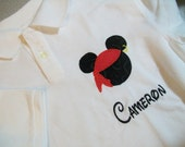 Pirate Mickey Mouse Polo shirt