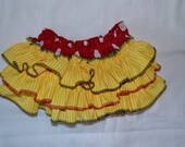 Minnie Mouse ruffle bloomers