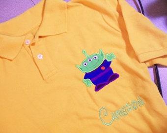 Boys Toy Story Alien Polo shirt