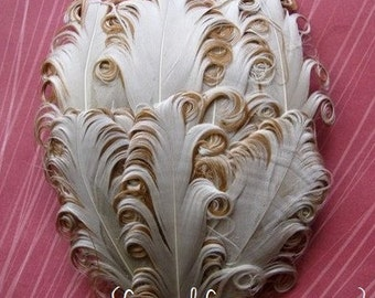Nagorie Feather Pad - 1 Original Buttercream Feather Pad