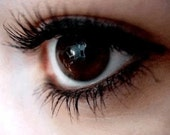 Mineral Mascara in INTENSE BLACK   Organic Ingredients All Natural and Gentle Mascara Formula