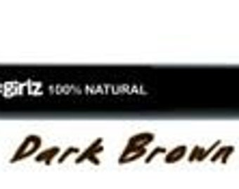 Nontoxic Eyeliner Pencil  in Dark Brown   Chubby eyeliner pencil made with organic ingredients