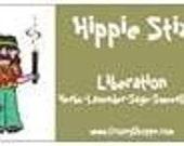 LIBERATION - Lavender Sage Lemongrass herbs- Hippie Stix