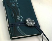 Midnight Blues - Dark Teal Leather Journal