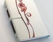 Rose Bloom - Genuine Leather Journal
