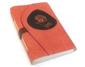 Rose Journal - Vintage Embellished Leather Cover