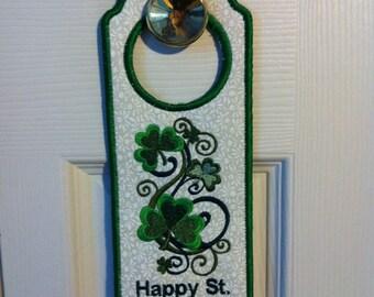 St. Patty's Day Door Hanger