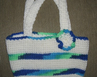 New Boutique Design Crocheted Hand Bag