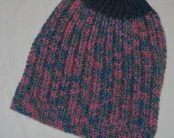 New Warm and Soft Hand Knit Wool Cap