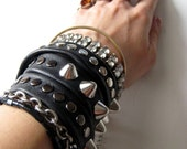 heavy METAL BRIDE twistee bracelet
