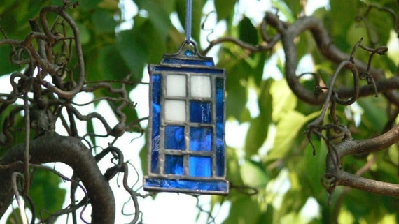 Stained Glass Mini Tardis