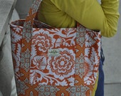 Orange Blossom Tote Bag
