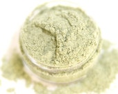 Discontinued -- Cilantro - Pale Frosted Green Vegan Mineral Eyeshadow - Handcrafted Makeup