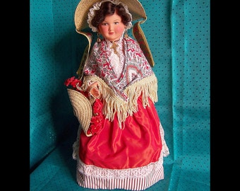 Vintage French Costume Collector Doll