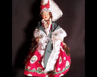 Lisieux French Costume Souvenir Doll